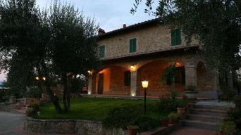 Ristrutturazione edificio campagna Toscana