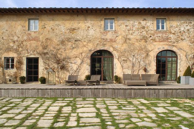 Кантри Фасад дома by studio b-arch