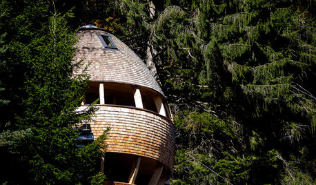 Houzz Tour: Whimsical Treehouses in Italy Touch the Sky