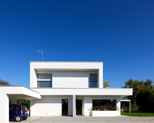 Foto e idee per facciate di case facciata di una casa for Casa a 1 piano