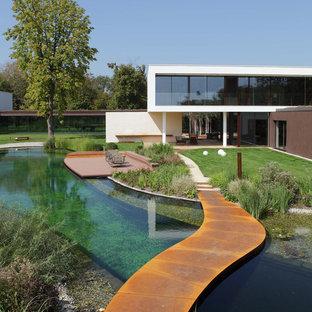 Стильный дизайн: фасад дома в современном стиле - последний тренд