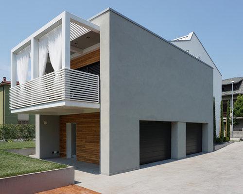 Foto e idee per facciate di case facciata di una casa - Foto di case moderne esterni ...