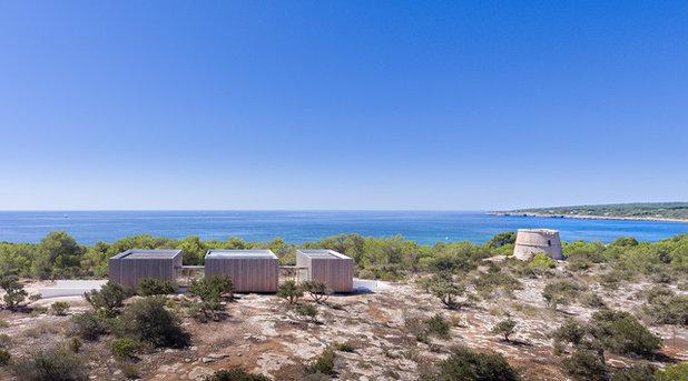 地中海 家の外観 by Marià Castelló, Architecture