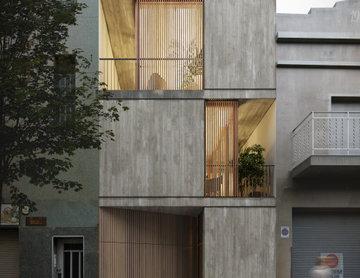 Casa 1404_EG. Fachada calle