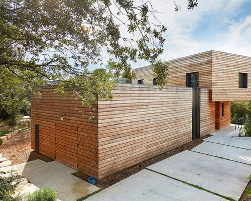 Ideas para fachadas dise os de fachadas n rdicas de - Casas de madera nordicas ...