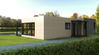 Casa Cube de 100 metros cuadrads