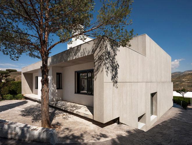 Contemporáneo Fachada by ariasrecalde taller de arquitectura