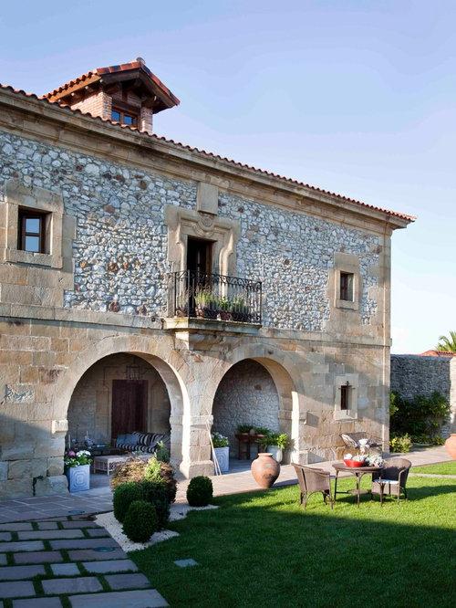 Ideas para fachadas dise os de fachadas de estilo de casa de campo - Fachadas casas de campo ...