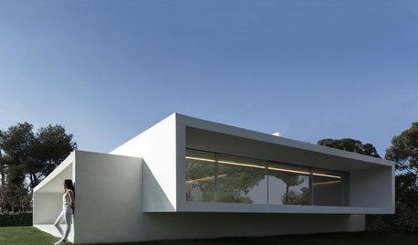Casas Houzz: Recuerdos felices en una vivienda minimalista