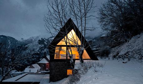 Casas Houzz: El refugio soñado en un valle nevado de los Pirineos