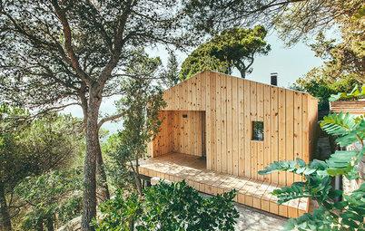 Houzzbesuch: Ein nordisch inspiriertes Fertighaus aus Holz in Spanien