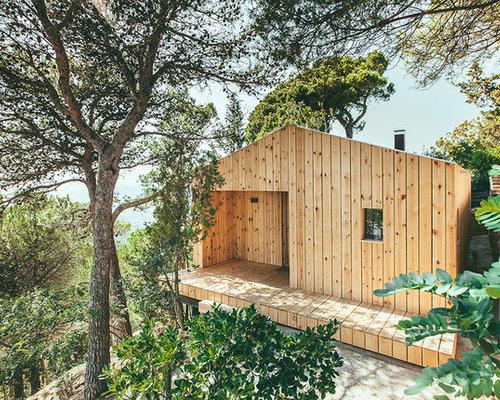 Skandinavisches Haus und Fassade mit Holzfassade: Ideen für die ...