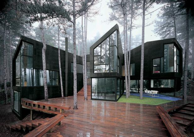 Contemporáneo Fachada by The Sibarist Property & Homes