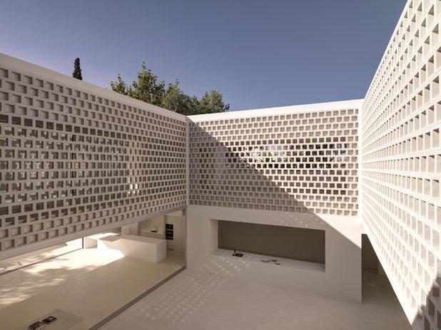 Современный Фасад дома by gus wustemann architects
