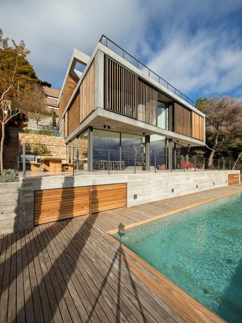 Ideas para fachadas dise os de fachadas modernas con for Casa holandesa moderna