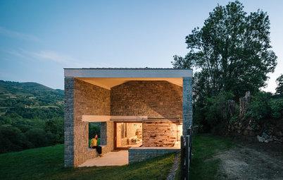 Antes y después: La increíble reforma de una granja en Asturias