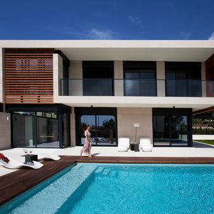 Exterior chalet con piscina - Sitges