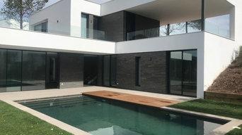 Exteriores de casas domotizadas