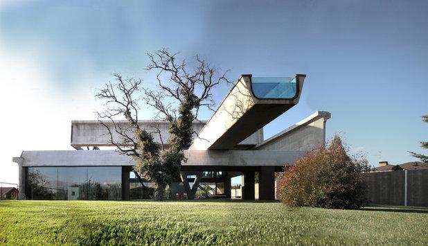 Современный Фасад дома by Ensamble Studio