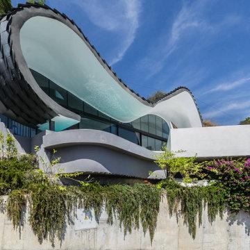 """Home Staging y Fotografía en casa de diseño """"La Casa del Acantilado"""""""