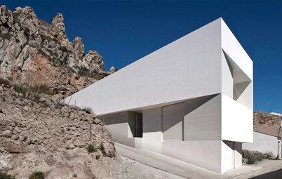 Casas Houzz: Un ejercicio de papiroflexia en la ladera de un castillo