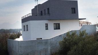 Instalación solar térmica (ACS y caldera biomasa) en vivienda de Atarfe /Granada