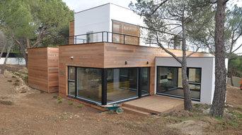 La casa de madera mas grande de España