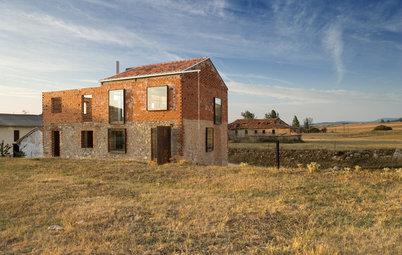 Casas Houzz: Un pajar transformado en un icono de la arquitectura