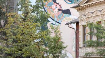 Mural para fachada.