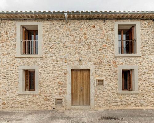 Fotos de fachadas dise os de fachadas de casas r sticas Paredes rusticas exteriores