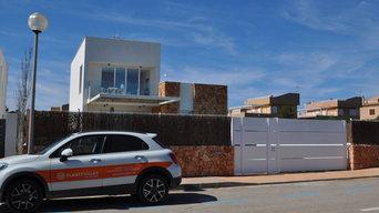 Sa Rapita, Mallorca moderna casa en la playa con aires de formentera