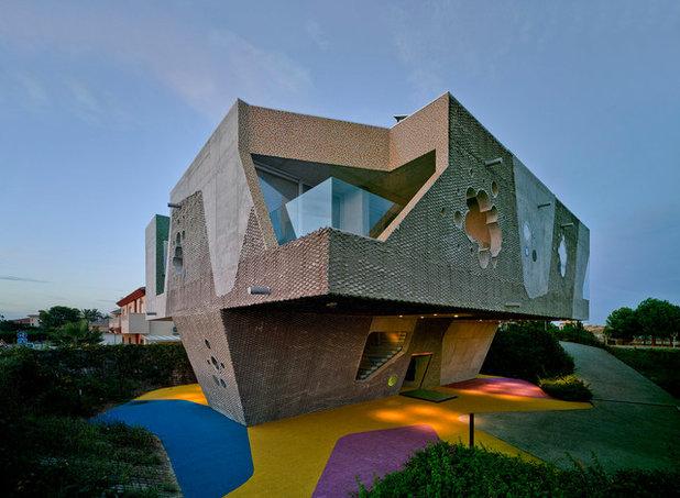 Contemporáneo Fachada by xpiral arquitectura