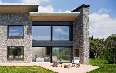 Casas Houzz: Un interior sosegado y en conexión con el paisaje