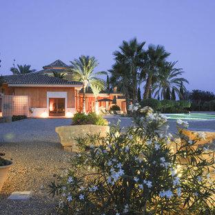 Mediterranean exterior home idea in Madrid