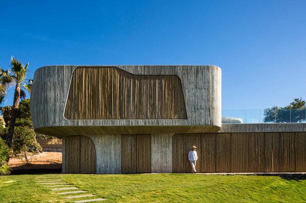 Contemporain Facade By Metroarea Architetti