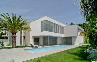 Casas Houzz: Un interior mediterráneo y contemporáneo en Elche