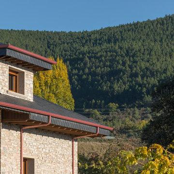 Vivienda de Cuarcitas de Villafranca en Fabero (España)