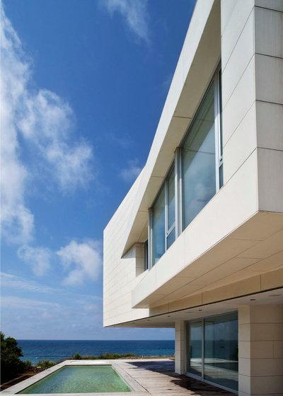 Contemporáneo Fachada by Jovino Martinez Sierrra Arquitectos
