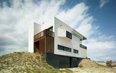 Casas Houzz: Una vivienda de alma ruda pensada para gozar del mar