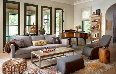 Houzz Tour: Character for a New House in the 'Burbs