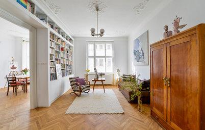 Visite Privée : Décoration vintage dans un appartement de 1910 à Prague
