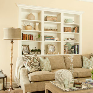 Inspiration for a timeless family room remodel in Los Angeles
