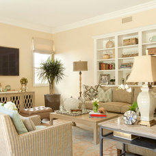 Traditional Family Room by GEORGE Interior Design