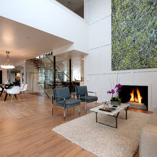 Contemporary Family Room by Breen Homes