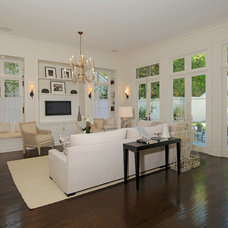 Traditional Family Room by Bruno Abisror - Sothebys International Realty