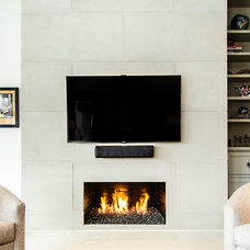 Contemporary Family Room by Hatfield Builders & Remodelers