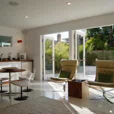 Contemporary Family Room by Beach House Design & Development