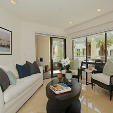 Beach Style Family Room by Sotheby's International Realty