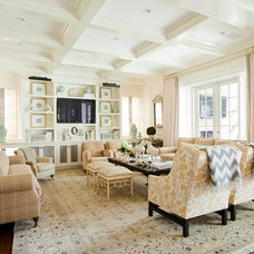 Traditional Family Room by Burdge & Associates Architects