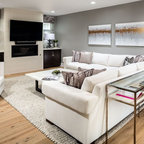 City Park Avenue New Orleans Transitional Family Room New Orleans By The French Mix